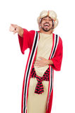 Wizard in costume Royalty Free Stock Image