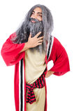Wizard in costume Royalty Free Stock Photo