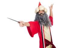 Wizard in costume Stock Photos