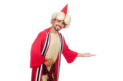 Wizard in costume Royalty Free Stock Photography