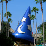 Wizard hat. Mickey mouse's wizard hat at Disney World Stock Images
