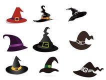 Wizard Hat. Vector graphics, cartoon Wizard Hat, Halloween material vector illustration