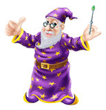 Wizard Illustration Royalty Free Stock Photos
