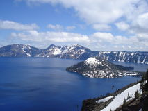 Wizard Island - Crater Lake Royalty Free Stock Photography