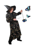 Wizard with morphos Stock Photography
