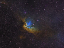 The Wizard Nebula. High resolution image of the Wizard Nebula Royalty Free Stock Photos