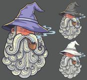 Wizard Portrait 2 Royalty Free Stock Photo