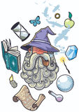 Wizard Portrait Royalty Free Stock Image