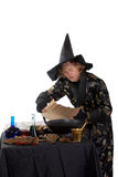 Wizard reading Royalty Free Stock Image