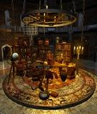 Wizard's study 1 stock illustration