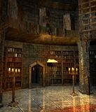 Wizard's study 2 Stock Photos