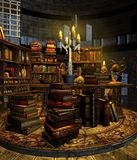 Wizard's study 3 Stock Photo