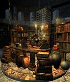 Wizard's study 4 Stock Photography