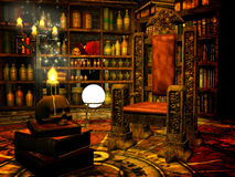 Wizard's study Stock Images