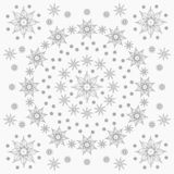 Wizard star and element pattern royalty free illustration