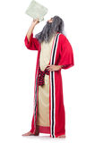 Wizard with water flask Royalty Free Stock Image