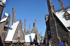 Wizarding Welt von Harry Potter Lizenzfreie Stockfotografie