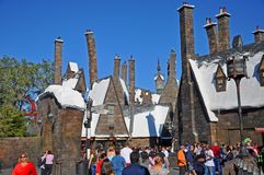 Wizarding świat Harry Poter, Orlando, Floryda, usa obrazy royalty free