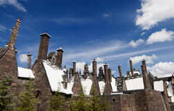 Wizarding World of Harry Potter. Hogsmeade at the Wizarding World of Harry Potter, Florida, 15th October 2010.  It took 5 years and cost approximately $265 Royalty Free Stock Image