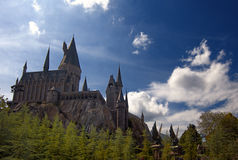 Wizarding World of Harry Potter. HOGWARTS CASTLE, FLORIDA - OCT 2010: Hogwarts Castle at the Wizarding World of Harry Potter, Orlando, Florida, 15th October 2010 Stock Images