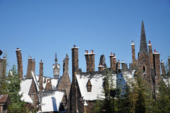 Wizarding World of Harry Potter. Hogsmeade at the Wizarding World of Harry Potter, Universal Orlando, Florida, USA Royalty Free Stock Photos