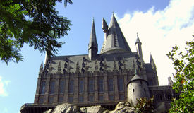 Wizarding world of Harry Potter Castle Royalty Free Stock Photo