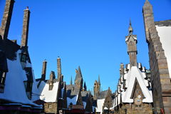 The Wizarding World of Harry Potter in Universal Studio, Osaka. OSAKA - 12 December 2014 : The Wizarding World of Harry Potter in Universal Studio Japan. One of Stock Photography