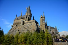 The Wizarding World of Harry Potter in Universal Studio, Osaka Stock Photography