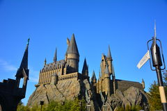 The Wizarding World of Harry Potter in Universal Studio, Osaka Royalty Free Stock Images