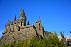 The Wizarding World of Harry Potter in Universal Studio, Osaka. OSAKA - 12 December 2014 : The Wizarding World of Harry Potter in Universal Studio Japan. One of Royalty Free Stock Photography