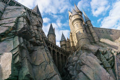 The Wizarding World of Harry Potter in Universal Studio, Osaka. One of the famous spot in Universal Studio Osaka.Photo taken on: December 1st, 2015 Royalty Free Stock Photos