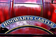 Wizarding World of Harry Potter in Universal Studios Japan Stock Photo
