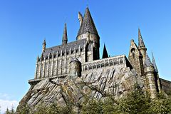 Wizarding World of Harry Potter in Universal Studios Japan Stock Image