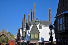 Wizardingswereld van Harry Potter, Orlando, Florida, de V.S. stock afbeelding
