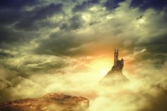 Free Wizards Keep With The Rising Sun Stock Photography - 119640562