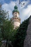 Wizerunek śródmieście historyczny miasteczko Sopron fotografia royalty free