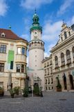 Wizerunek śródmieście historyczny miasteczko Sopron zdjęcie stock