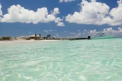 Wizerunek żaglówka blisko plaży Zdjęcia Stock