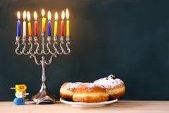 Wizerunek żydowski wakacyjny Hanukkah