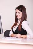 Wizerunek ładna biznesowa kobieta Obraz Royalty Free