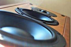 Wizerunek audio dźwięka mówca - muzyka Obraz Royalty Free