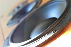 Wizerunek audio dźwięka mówca - muzyka Fotografia Stock