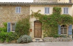 Francuski grodzki dom zdjęcia stock