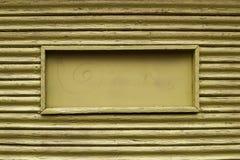 Wizerunek brown drewniany tło z jeden ramą zdjęcie royalty free