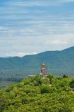 Wizerunek Buddha na wzgórzu, Tajlandia Fotografia Royalty Free