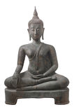 Wizerunek Buddha odizolowywał na białym tle fotografia stock