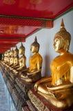 Wizerunek Buddha przy Watem Pho Obrazy Royalty Free