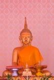 Wizerunek Buddha tła tajlandzki styl Zdjęcia Royalty Free