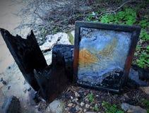 Wizerunek burnt Zdjęcia Stock