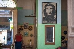 Wizerunek Che Guevara obrazy royalty free